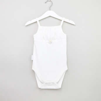 Giggles Strappy Cotton Bodysuit