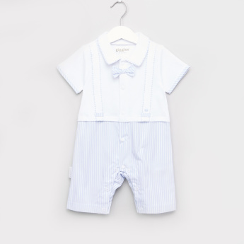 Giggles Panelled Romper
