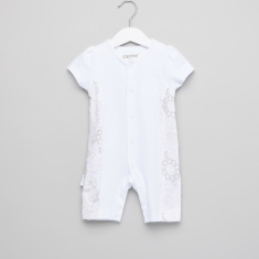 Giggles Textured Romper