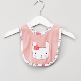 Juniors Textured Bib with Snap Closure