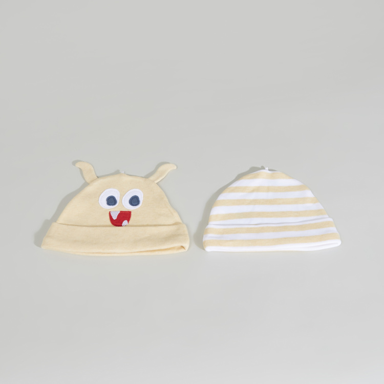 Juniors Textured Cap - Set of 2