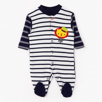 Fisher-Price Striped Sleepsuit