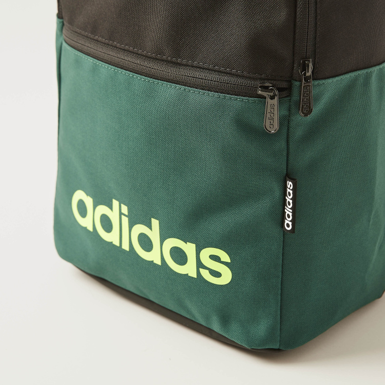 Adidas Colourblock Backpack with Adjustable Straps