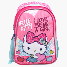 Sanrio Hello Kitty Printed Backpack - 18 inches