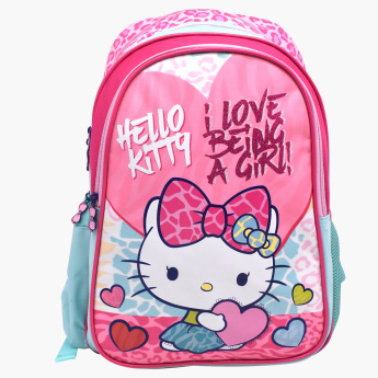 Sanrio Hello Kitty Printed Backpack - 14 inches