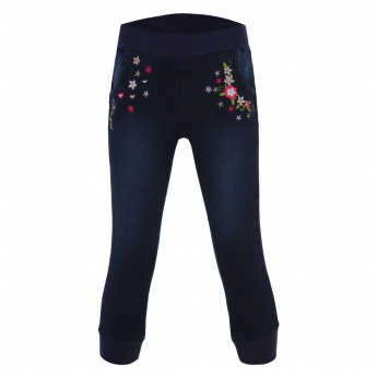 Kanz Embroidered Jeggings