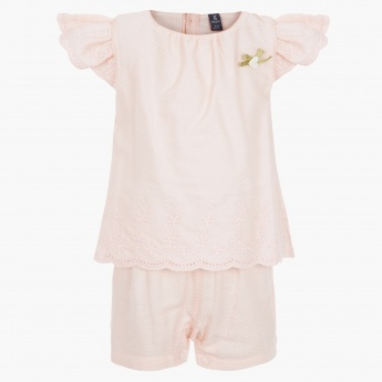 Giggles Solid Colour Romper