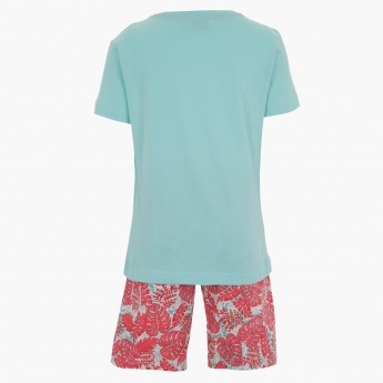 Juniors T-shirt and Shorts Set