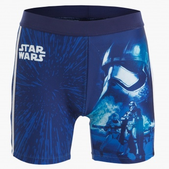 Star Wars Printed Swim Shorts