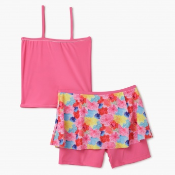Hello Kitty Printed Shorts Set