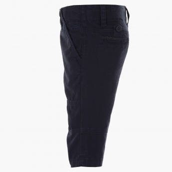 Jsp Three-fourth Woven Pants