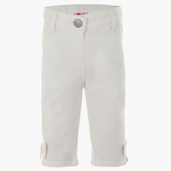 Juniors Three-fourth Woven Pants