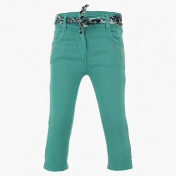 Juniors Solid Colour Pants