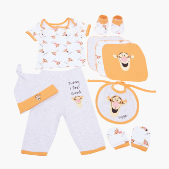 Disney 9-Piece Tigger Printed Baby Clothing Gift Set