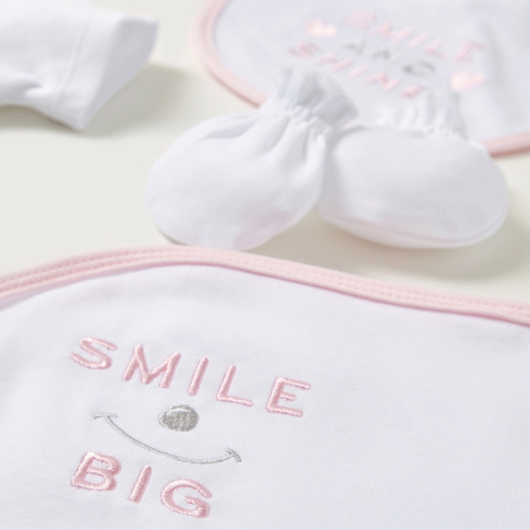 Juniors 6-Piece Printed Baby Clothing Gift Set