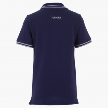 Juniors Polo Neck T-shirt