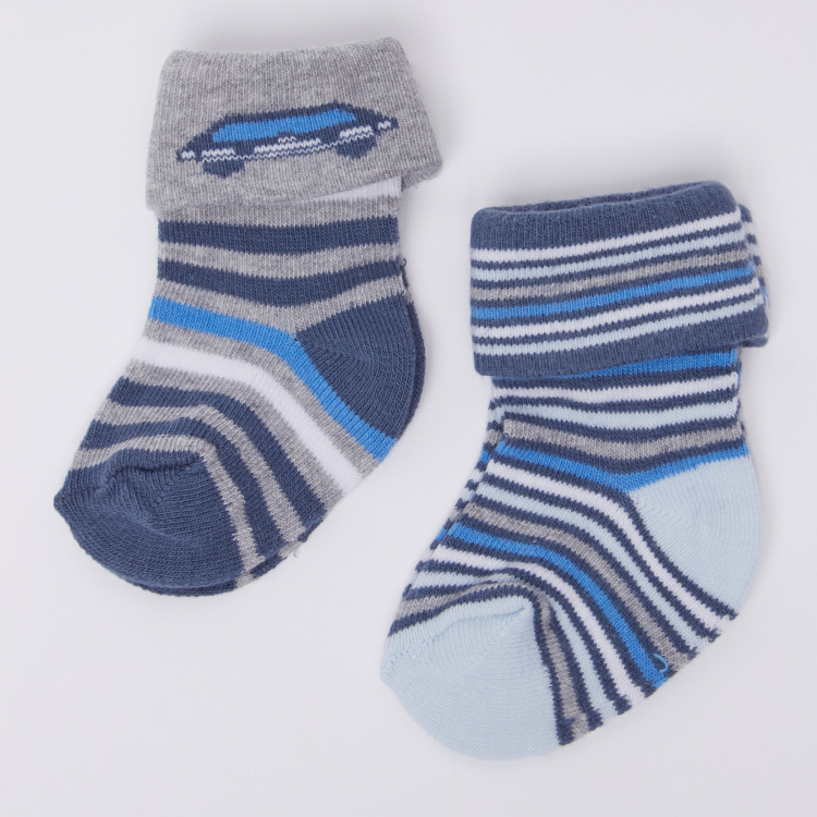 Juniors Striped Socks - Set of 2