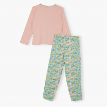 Dora the Explorer Printed Pyjama Set