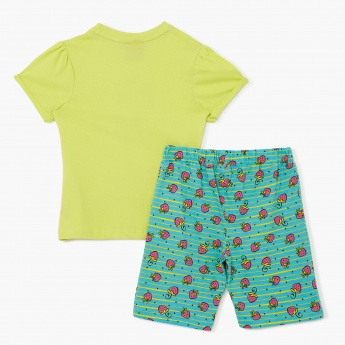 Strawberry Shortcake T-Shirt and Bermudas Set