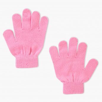 Minnie Mouse Printed Gloves
