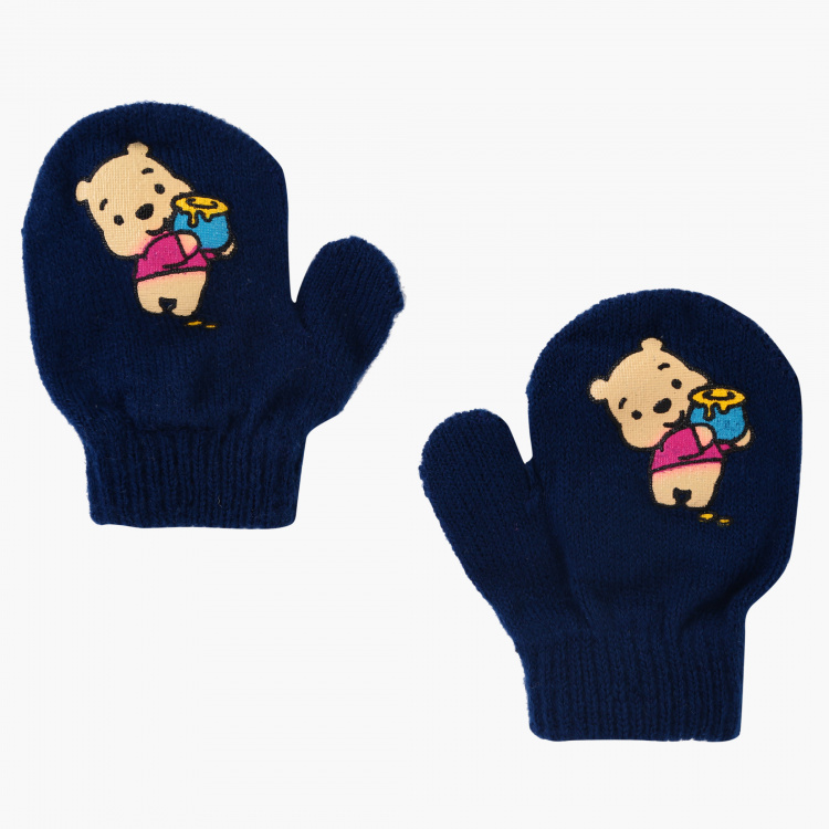 Winnie the Pooh Woven Hand Gloves