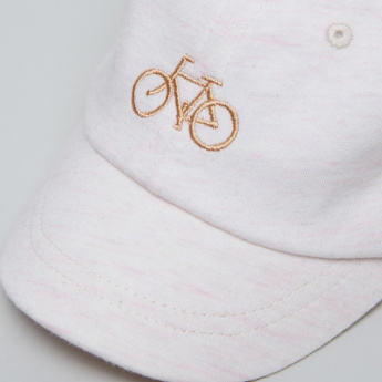 Juniors Embroidered Cap with Elasticised Back