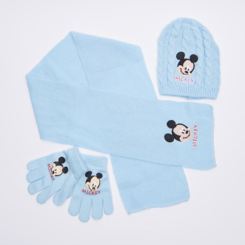 Mickey Mouse Embroidered 3-Piece Accessory Set