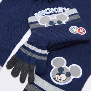Mickey Mouse Printed 3-Piece Accessory Set