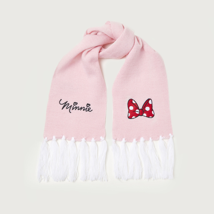 Disney Minnie Mouse Print 3-Piece Winter Accessory Set
