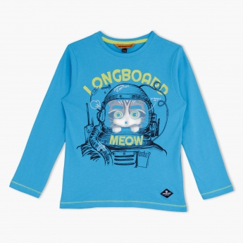 Longboard Long Sleeves T-Shirt