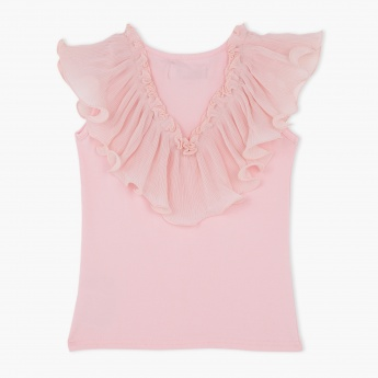 Juniors Frilled Top