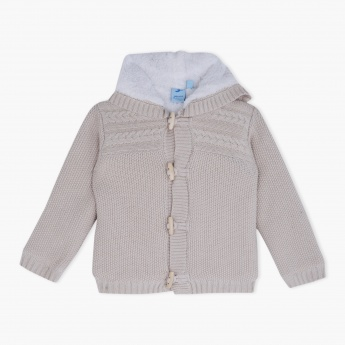 Juniors Hooded Cardigan