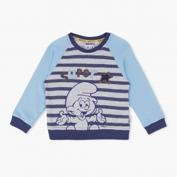 The Smurfs Printed Sweat Top