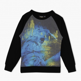 Batman Raglan Full-sleeved T-shirt