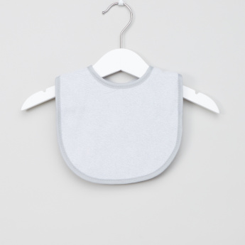 Juniors Textured Bib with Hook and Loop Closure - Set of 4