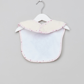 Juniors Embroidered Bib with Hook and Loop Closure