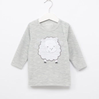 Juniors Space Dyed T-Shirt and Pyjama Set