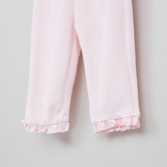 Juniors Frill Detail Top and Pyjama Set
