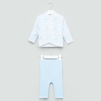 Juniors Long Sleeves Sweater and Pyjama Set