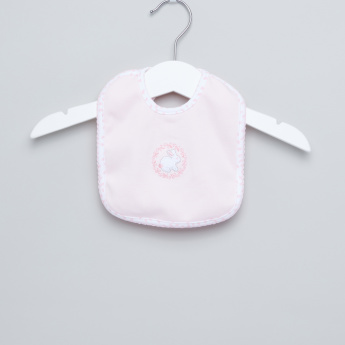 Juniors Embroidered Bib with Tie Ups
