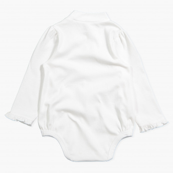 Juniors Long Sleeves Bodysuit