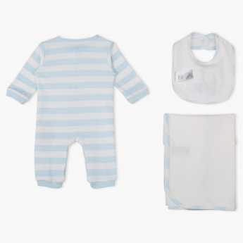 Juniors Striped 3-Piece Clothing Set