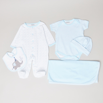 Juniors Printed 5-Piece Clothing Set