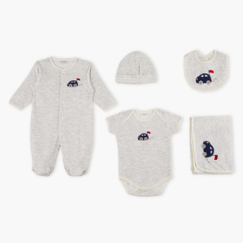 Juniors Embroidered 5-Piece Value Pack Set