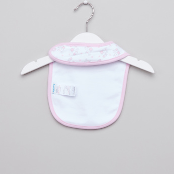 Juniors Assorted Bib with Snap Button Closure - Set of 3