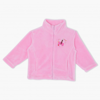 Juniors Embroidered Jacket