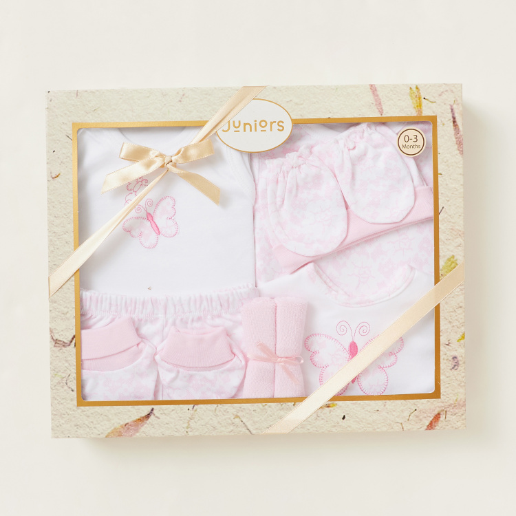 Juniors Printed 9-Piece Clothing Gift Set