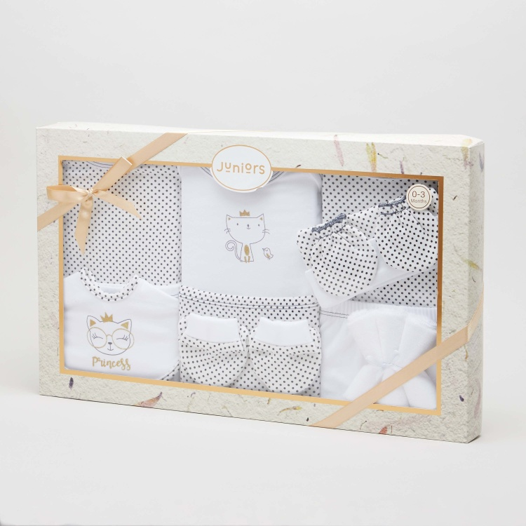 Juniors Printed 13-Piece Gift Set