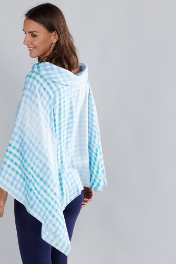 House of Napius Maternity Printed Poncho