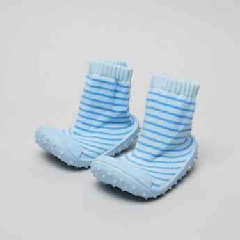 Juniors Striped Baby Shoes